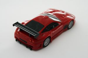 red model race car