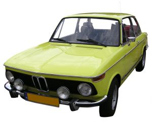 80's BMW green