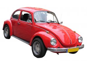 volkswagon red beetle