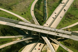 maryland auto insurance - freeway overpass